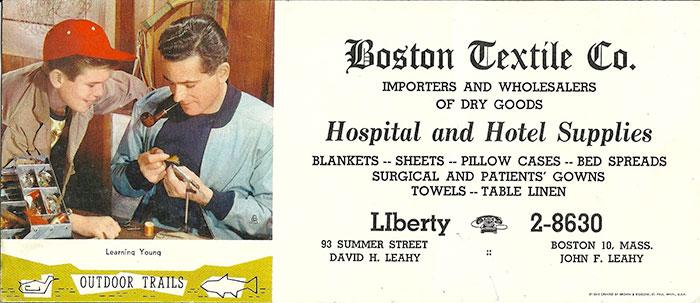 hotel-textile-company- vintage Textile Linen Ad
